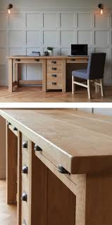 Best 25+ Oak desk ideas on Pinterest   Contemporary large plates ...