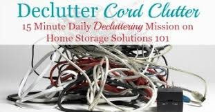 Declutter 365 mission to get rid of cable, charger and cord clutter in your  home