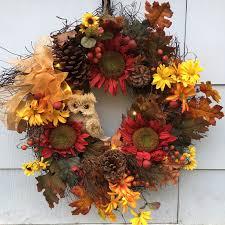 Fall Wreath Homely Handmade Fall Wreath Designs For The Coming Season