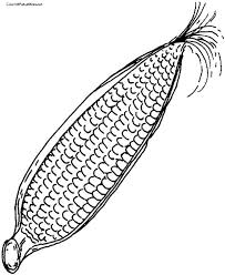 Small Picture Corn Coloring Page COLORING PAGES FOR FREE Pinterest