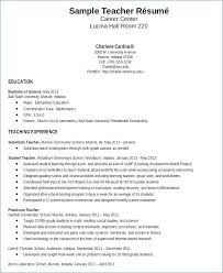 Teacher Resume Objective Enchanting Early Childhood Resume Objective Generalresumeorg