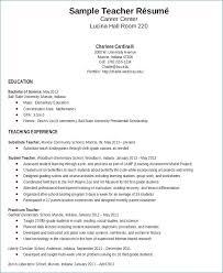 Teacher Resume Objective Enchanting Early Childhood Resume Objective Generalresumeorg