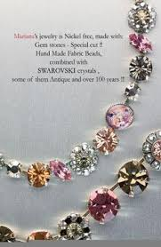 image del for mariana jewelry swarovski crystals gem stones israel spirit of design