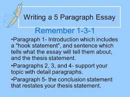 3 5 Essay Format 5 Paragraph Essay Structure Ppt Video Online Download
