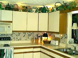 decorating ideas for above kitchen cabinets above kitchen cabinet ideas new designs of and top kitchen