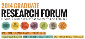 graduate research forum graduate students university of graduate research forum the graduate research forum features poster displays representing ucf s