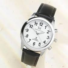 lifemax rnib men s talking atomic watch 407 strap amazon co t j mens radio controlled atomic talking speaking watch black leather strap