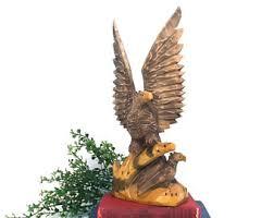 Small Picture Eagle figure statue Etsy