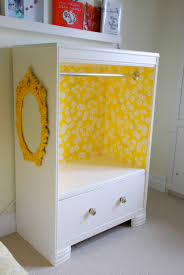 kids organization furniture. Old Dresser Turn Into A Wardrobe For Dress-up. Cutest Thing Ever! We\u0027ve Been Wanting To Do This! #kids #playroom #dressup Kids Organization Furniture U