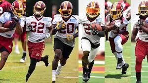 Washington Redskins 2017 Depth Chart 2017 Redskins In Richmond Running Backs