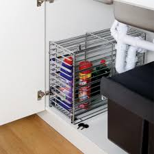 Under Kitchen Sink Organizing Under Kitchen Sink Storage Image House Storage Solution Ideas