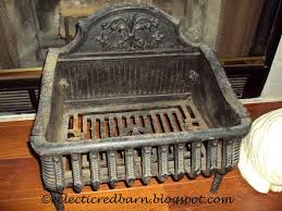 eclectic red barn antique cast iron fireplace grate antique fireplace mantels for home improvement