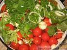Рецепт солёных помидоров в кастрюле