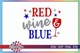 Fishing fish logo icon png image. Red Wine And Blue 4th Of July Graphic By Ssflower Creative Fabrica In 2020 Red Wine Wine 4th Of July