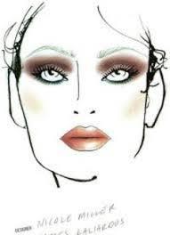 mac makeup looks brown smokey eye and lip