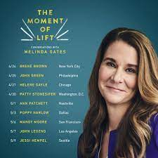 Melinda Gates - I'm so excited to take my new book, The...