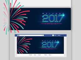 Free Facebook Covers Templates Happy New Year 2017 Facebook Cover Photo Free Psd Template Psd Repo