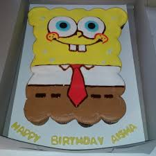 Spongebob Birthday Cupcake Cake Created By Douglasville Based Bakery