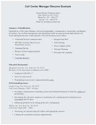 Student Resume Examples Little Experience Call Center Resume Sample No Experience Best Resume With Little Work