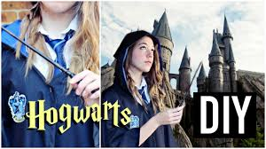 diy hogwarts student uniform harry potter inspired costume and wands you