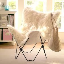 furlicious faux fur erfly chair
