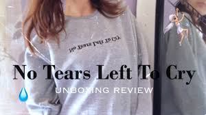 Ariana Grande Ntltc Unboxing Merch Sweatshirt