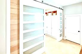full size of laundry door room barn semi translucent sliding doors to the when glass