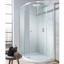crosswater simpsons edge single door offset quadrant shower enclosure