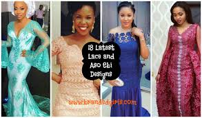 Lace African Dresses Design 2018 2018 Aso Ebi Styles 20 Latest Lace And Asoebi Designs These Days