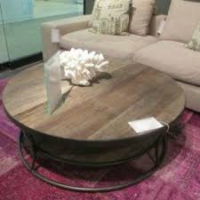 round industrial coffee table. Round Industrial Coffee Table U