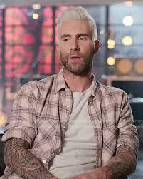 Adam Levine Hairstyle 19 Best WornOnTV Adam Levine's Pink Plaid Shirt On The Voice Adam Levine