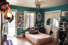 bohemian style bedroom decor. Exellent Bohemian Whether It Be A Wall Or Furniture Color Is The Most Prominent Aspect To Bohemian  Style Use Colors That Contrast With Colors Add Up Old Yet  In Bohemian Style Bedroom Decor