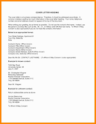 Who To Address Cover Letter To If Unknown Awesome Cover Letter