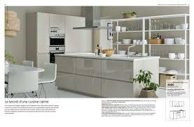 Cuisine Ikea Ringhult Blanc Brillant Photos De Design D