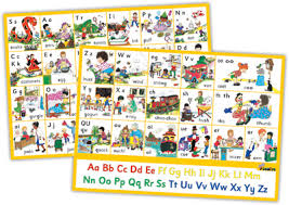 Dominie | Jolly Phonics Letter Sound Wall Charts - Print