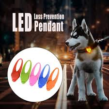 Blinking Lights For Dogs Us 0 58 10 Off 1pcs Pet Led Pendant Safety Flashing Glow Light Blinking Led Collar Pendant For Pet Dog Puppy 8x2 5cm Dropshipping High Quality In