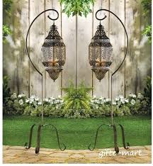 outdoor moroccan lighting. Moroccan Floor Lamp S Lantern Large Hanging Pendant Candle  Holder Stand Outdoor Inspired Lighting R