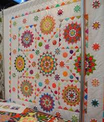63 best Gypsy Wife and Jen Kingwell quilts images on Pinterest ... & Jen Kingwell Starquilt - such a happy quilt! Adamdwight.com