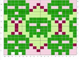 skullargyle.gif gif by amberaeon | Photobucket | Colorwork chart, Perler  patterns, Knitting