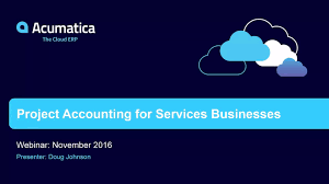 Project Accounting Cloud Erp Software Acumatica Cloud Erp