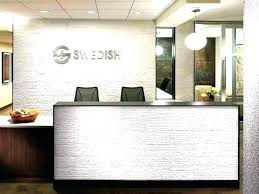 Front office design Pinterest Office Front Desk Design Front Receptionist Pinterest Office Front Desk Design Interior Design For Small Office Reception