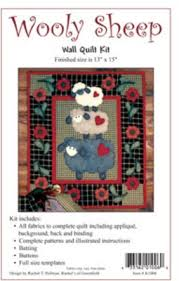 Brewer Sewing - Wooly Sheep Wall Quilt Kit &  Adamdwight.com