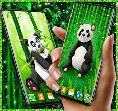 Cute Panda Live Wallpaper for Android ...