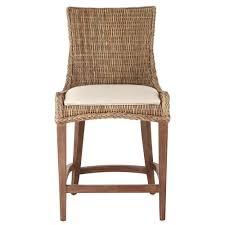 genie grey kubu wicker counter stool set bar stools outdoor height locking cabinet dinner winston patio