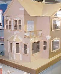 Cardboard Doll House Patterns | And finally I've made an attempt at making  some down lights out of ... | Doll houses | Pinterest | Doll houses, ...