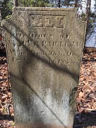 """Mary Carter """"Polly"""" Barnett Partlow (1767-1828) - Find A Grave Memorial"""