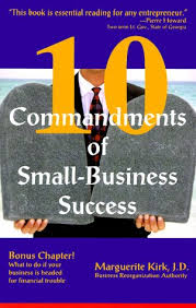 10 Commandments of Small-Business Success: Kirk, Marguerite: 9781889438252:  Amazon.com: Books