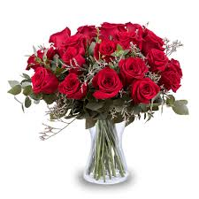 for my inspiration 24 red roses