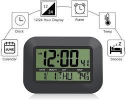 jumbo display digital wall clock atomic