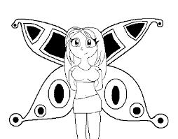 Disegno Di Fata Anime Da Colorare Acolorecom